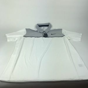 Nike Golf Men's Two Tone Button Polo Shirt